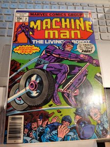MACHINE MAN #2 HIGH GRADE