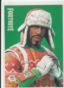Fortnite Yuletide Ranger 150 Uncommon Outfit Panini 2019 trading card series 1