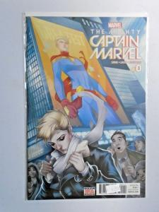 Mighty Captain Marvel #0 A 9.0 NM (2017)