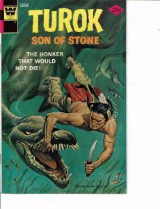 Lot Of 2 Comic Books Whitman Turok Son Stone #95 and El Pajaro Loco #456 ON8