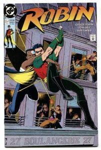 ROBIN #2 1991-First appearance of KING SNAKE-comic NM-