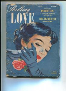 THRILLING LOVE MARCH 1953-THRILLING-HOWARD CONNELLY-G/VG