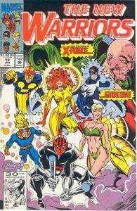 New Warriors (1990 series) #19, NM- (Stock photo)
