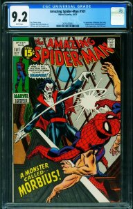 Amazing Spider-Man #101 CGC 9.2 First Vampire Morbius-comic book- 2070126007