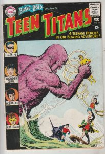 Brave and the Bold, The #60 (Jul-65) VG/FN+ Mid-Grade Teen Titans