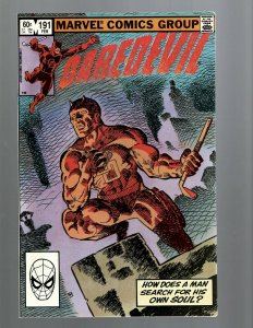 Daredevil # 191 NM- Marvel Comic Book Bullseye Defenders Hell's Kitchen TW67
