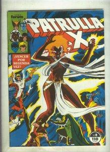 La Patrulla X volumen 1 numero 008: Mundo asesino (numerado 1 en trasera)