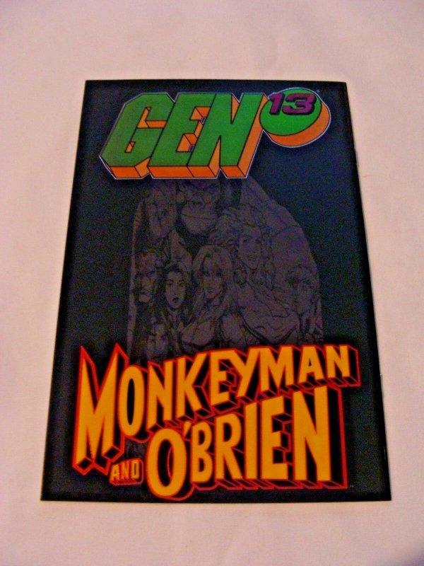 Gen 13 / Monkey Man & O'Brien #1 Chromium Variant VF/NM- (Jun 1998, Image)
