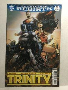 Trinity 1 Variant Nm Near Mint DC Comics