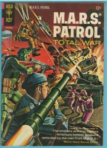M.A.R.S. Patrol 3 Sep 1966 VF (8.0)