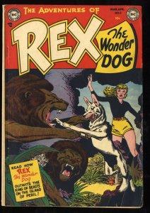 The Adventures of Rex the Wonder Dog #2 VG+ 4.5