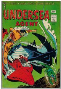 UNDERSEA AGENT 3 VG June 1966 COMICS BOOK