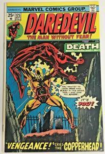 DAREDEVIL#125 VF 1975 MARVEL BRONZE AGE COMICS