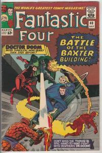 Fantastic Four #40 (Jul-65) VF/NM High-Grade Fantastic Four, Mr. Fantastic (R...