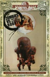 Zombies vs. Robots #0 VF/NM; IDW | save on shipping - details inside
