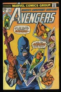 Avengers #145 VG+ 4.5 Marvel Comics Thor Captain America 1st Assassin!