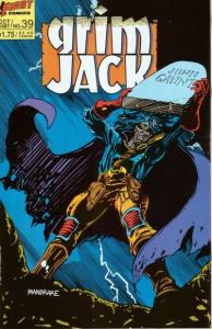 Grimjack #39, NM- (Stock photo)