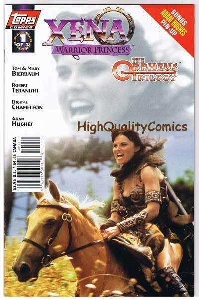 XENA WARRIOR PRINCESS ORPHEUS 1, NM+, Lucy Lawless,1998, more Xena in store