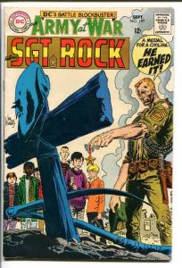 OUR ARMY AT WAR #197-SGT. ROCK-COOL ISSUE VG+