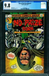 Marvel No-Prize Book #1 CGC 9.8 Stan Lee-Night Nurse 2015993003