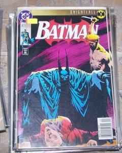 Batman #493 (May 1993, DC) khightfall pt 3 Szazs bruce wayne