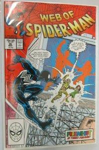 Web of Spider-Man #36 DIR 8.0 VF (1988)