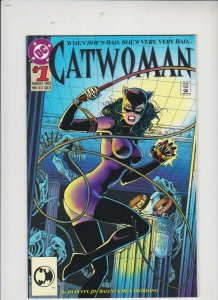 CATWOMEN #1 1993 DC /  DIE-CUT COVER  /  UNREAD / HIGH QUALITY