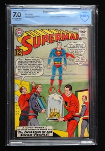 Superman #158 (DC, 1963) CBCS 7.0 - KEY 1st Nightwing & Flamebird