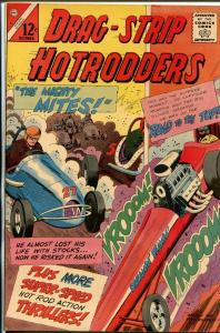 Drag-Strip Hotrodders #6 1965-Charlton-1957 Chevy-midget race cars-VF/NM