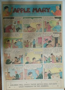 Apple Mary Sunday Page by Martha Orr from 6/30/1935 Size Full Page 15 x 22 inch