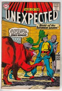 Tales of the Unexpected #58 (Feb-61) FN/VF+ High-Grade Space Ranger, Cyrl