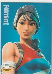 Fortnite Star-Spangled Ranger 141 Uncommon Outfit Panini 2019 trading card