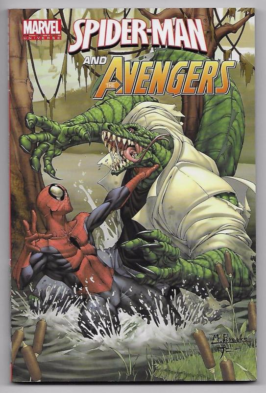 Marvel Universe Spider-Man & Avengers TPB Digest Collects (Marvel) New!