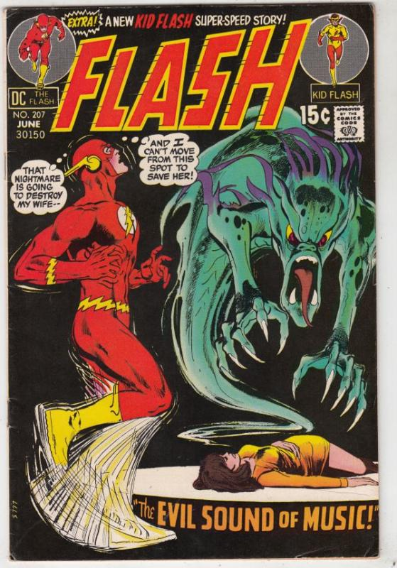 Flash, The #207 (Jun-71) VF/NM High-Grade Flash