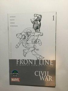 Front Line 1 Civil War Wizard World Chicago Marvel