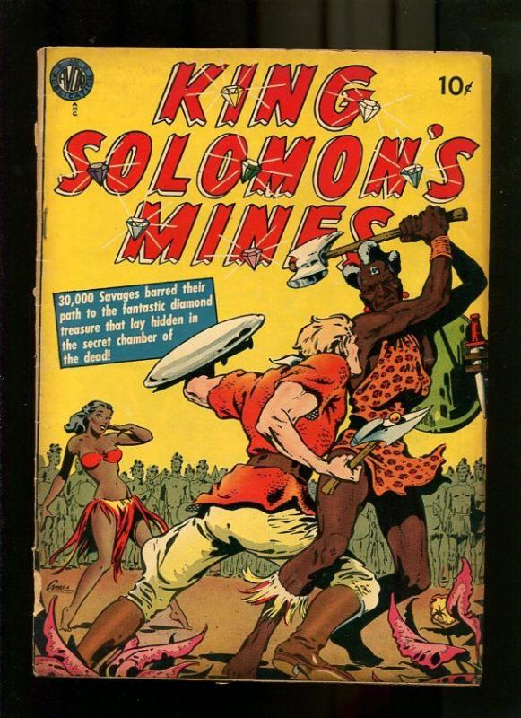 KING SOLOMON'S MINES 1-1951-AVON-RARE ISSUE G/VG