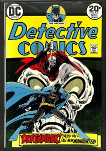 Detective Comics #437 VF 8.0 Batman! New Manhunter!