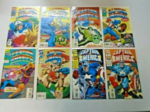 Captain America Comic Lot From #400-454 (Last Issue) 42 Diff 8.0 VF (1992-1996)