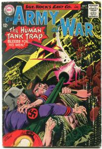 OUR ARMY AT WAR #156 1965-D.C. WAR SILVER-AGE-SGT. ROCK- VG