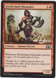 Magic the Gathering: Welcome Deck 2016 - Borderland Marauder