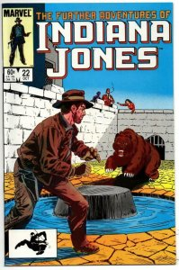 INDIANA JONES #22 VF/NM, End Run, 1983 1984, Further Adventures of