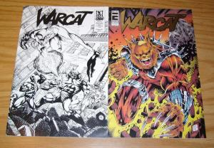 Warcat #1 VF- one-shot + issues 1/2 special ashcan edition (limited to 1000)