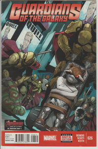 GUARDIANS OF THE GALAXY #26 - 2015 - MARVEL - BAGGED & BOARDED