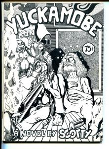 Yuckamobe 1971-Robert Scotellaro-novel in comic book format-rare-VF