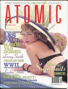Atomic-The Magazine of Retro Culture-Summer 2000-Betty Boop-culture-music-FN/VF