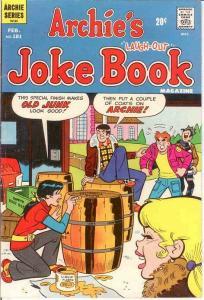 ARCHIES JOKE BOOK (1954-1982)181 VG-F Feb. 1973 COMICS BOOK