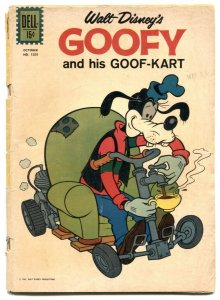 Goofy and His Goof-Kart- Four Color Comics #1201 1961 FR