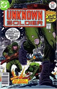 Unknown Soldier (1977 series) #205, VF- (Stock photo)