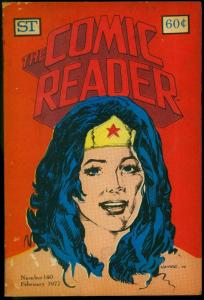 The Comic Reader Fanzine #140 1977- Wonder Woman cover G