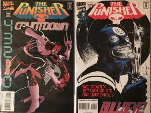 PUNISHER (MARVEL) #102,104 VF/NM! BOTH ISSUES UNREAD!